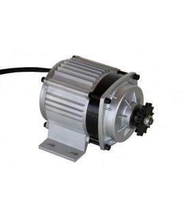 Электродвигатель 48v1000w с планетарным редуктором