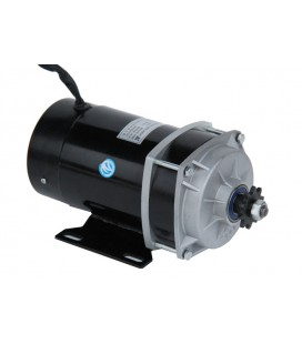 Электродвигатель постоянного тока 36v650w с планетарным редуктором
