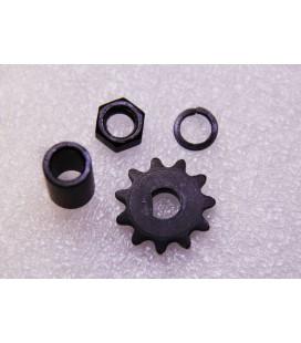 Электронабор: заднее мотор-колесо Volta 36v350w в литом ободе 8' и переднее колесо 8'