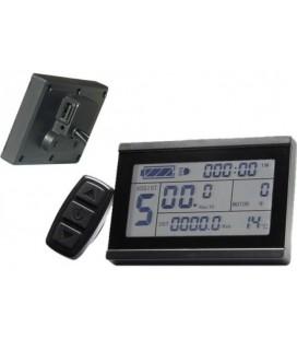 Дисплей LCD-3+USB для контроллеров KUNTENG на 24v,36v,48v