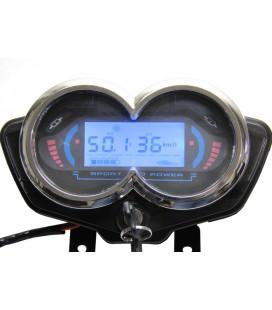 Универсальный цифровой блок приборов для электротранспорта с напряжением питания 48v-60v