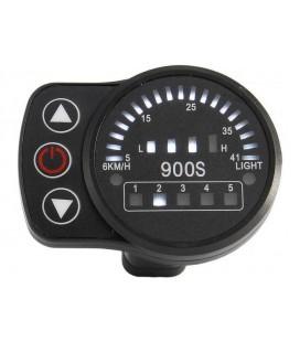 Дисплей LED-900S для контроллеров KUNTENG на 24v,36v,48v