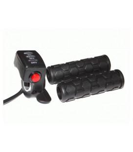 Ручка газа рычажного типа со светодиодным индикатором на 24v и кнопкой круиз-контроля