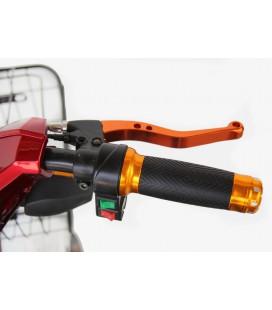 Ручка газа с LCD дисплеем на 36v и замком зажигания для колёс диаметром 26'