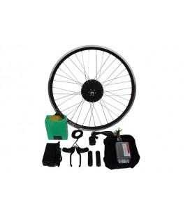 Полный электронабор с мотор-колесом 48v600w в ободе 16' - 28' и литий ионной АКБ 48v13Ah