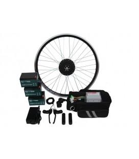 Полный электронабор с мотор колесом 36v600w в ободе 16'-28' и аккумуляторами 36v14Ah
