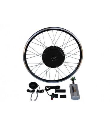Электронабор с прямо-приводным мотор-колесом 2000w в ободе 20'- 28' для установки сзади