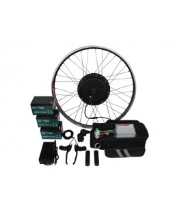 Полный электронабор с мотор-колесом 36v600w в ободе 20'-28' и аккумуляторами 36v14Ah