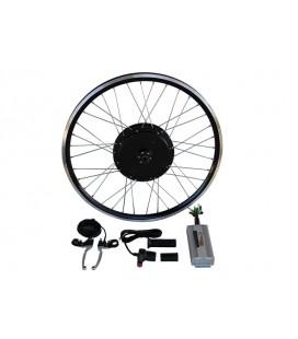 Электронабор с прямо-приводным мотор-колесом 1500w в ободе 20'- 28' для установки сзади