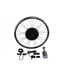 Электронабор с прямо-приводным мотор-колесом 600w в ободе 20'- 28'