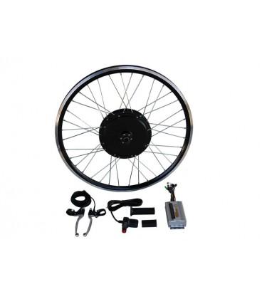 Электронабор с задним прямо-приводным мотор-колесом 48v800w в ободе 20' - 28' под 1 звезду