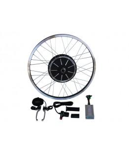 Электронабор с прямо-приводным мотор колесом 48v500w в ободе 20'- 28' для установки сзади