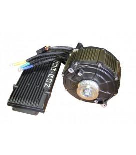 Электронабор с электродвигателем 48-60v/5000w с прямым приводом и контроллером 450А