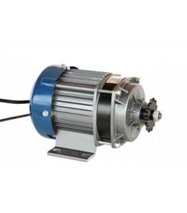 Электронабор с электродвигателем BLDC 48v500w, с планетарным редуктором