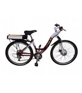 Велозамок тросовый с сигнализацией