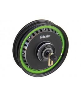 Низкооборотное прямо-приводное мотор-колесо 48v1000w с ободом 10' для тачки
