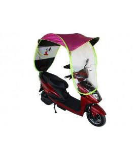 Универсальная защита от дождя и ветра для скутера