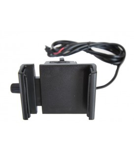 Держатель для смартфона с USB разъемом на руль электровелосипеда, электроскутера, электромотоцикла