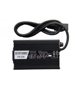 Электроскутер ELF-2 (350W-48/12 V/Ah) красный