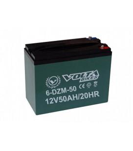 Тяговый свинцово-кислотный аккумулятор AGM 12v50Ah