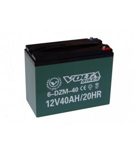 Тяговый свинцово-кислотный аккумулятор AGM 12v40Ah