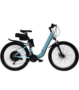 Электровелосипед складной Вольта Де люкс 1250