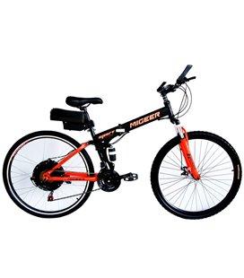Электровелосипед складной двухподвесный Вольта Майгир 2000