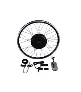 Электронабор с задним мотор-колесом 36-48v600w в ободе 20'- 28' под 1 звезду