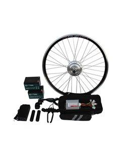 Полный электронабор с усиленным мотор-колесом 24v350/750w в ободе 16' - 28' и аккумуляторами 24v13Ah