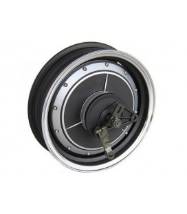 Мотор-колесо QS motor 48v1500w с ободом 13' для электроскутера